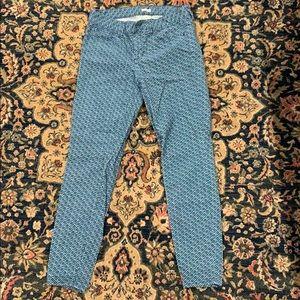 Corduroy toothpick pants